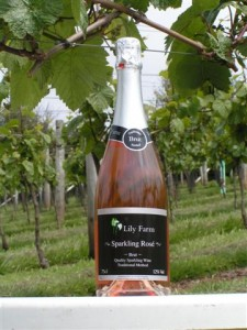 Lily Farm Vineyard's 2010 Sparkling Rose'